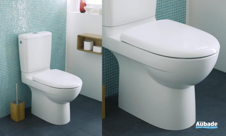 Pack WC à sortie orientable cachée avec abattant standard Prima Multi et Prima Compact Multi de Allia