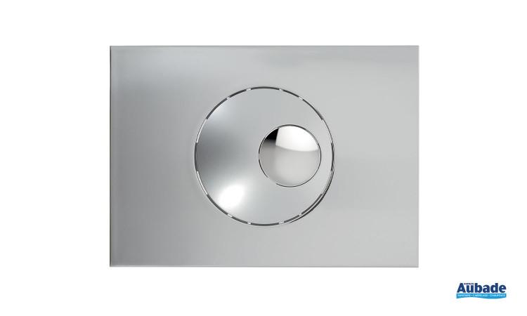 toilettes bati-support nicoll plaque de commande bouton rond