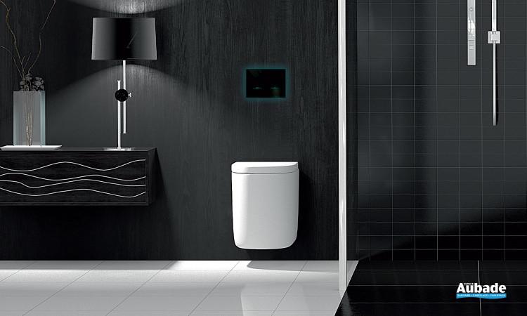 toilettes bati-support nicoll plaque de commande led