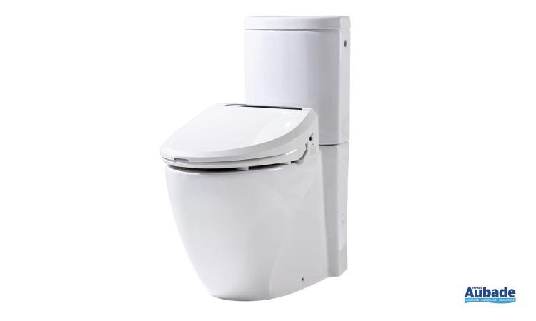 Pack WC posé multifonctions avec abattant 6035RS de Dubourgel