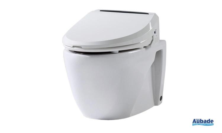 Pack WC version suspendue multifonctions avec abattant 6035RS de Dubourgel