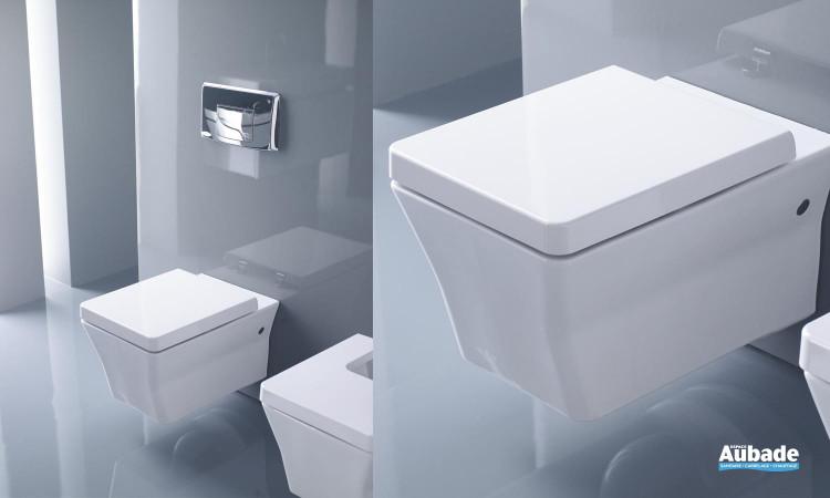 WC équipé d'une cuvette suspendue avec abattant à descente progressive Rêve de Jacob Delafon