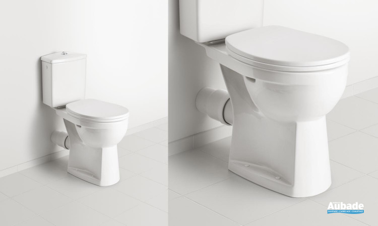 WC avec cuvette surélevée Dubourgel O.novo Vita