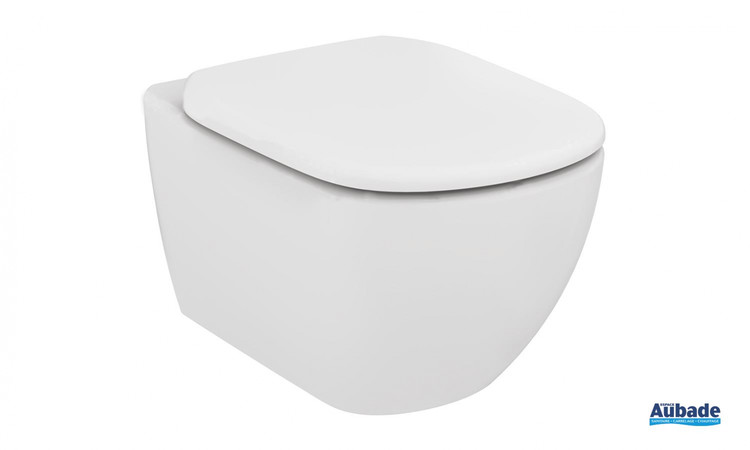 toilettes wc ideal standard velours evolution wc suspendu