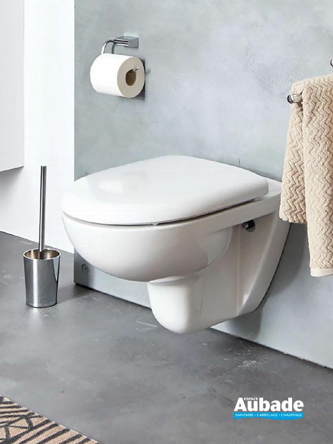 Pac wc suspendu compact sans bride Clivia de la marque Vigour