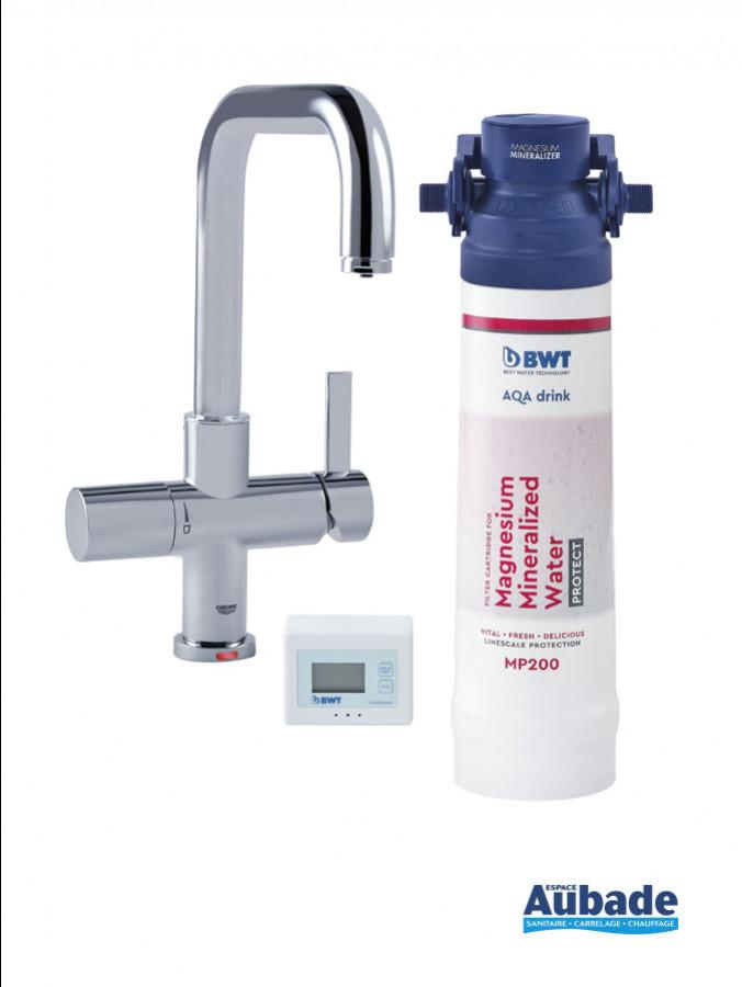 traitement eau filtre bwt aqa drink pure set