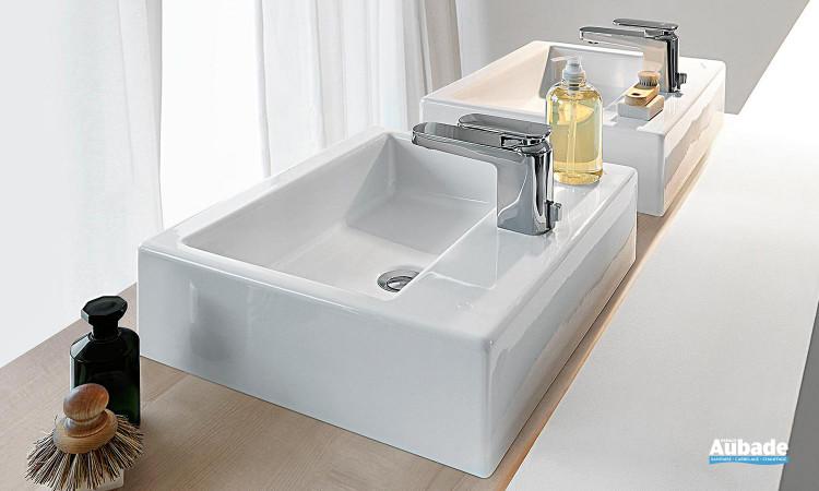 Vasques rectangulaires posées