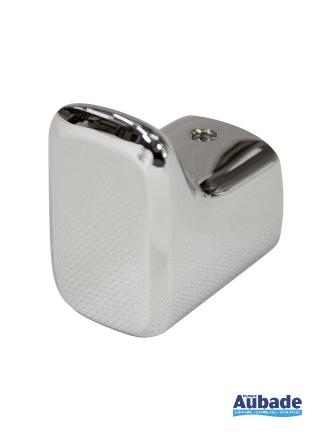 Accessoire de salle de bains Crochet à serviette à fixer Derby Style finition chromé de la marque Vigour