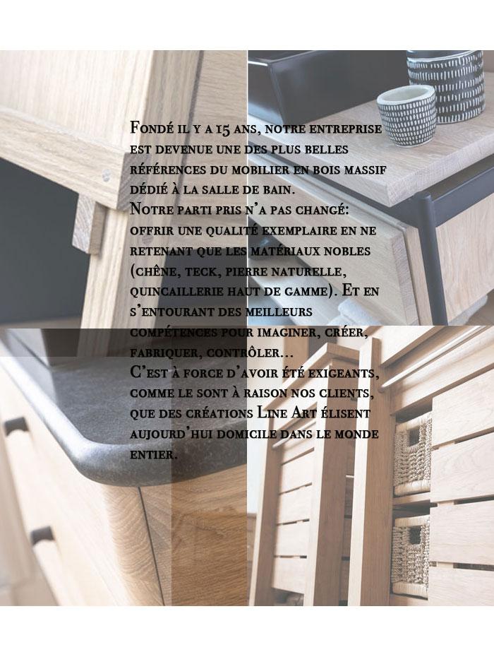 Meuble suspendu 1 tiroir Effect 2 par Line Art