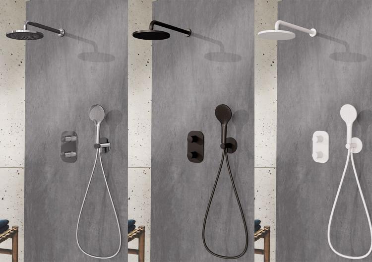 Packs de douche encastré