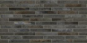Décor Ceramiche Piemme Bits Pitch Black Bricks