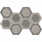 19,6x34,2<br>Grey esagona