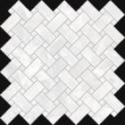Mosaïque Emil Ceramica Tele di Marmo Revolution Thassos Intrecci