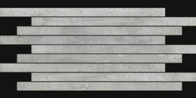 Mosaïque Novabell Forge Métal Alluminio Muretto