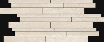 Mosaïque Novabell Norgestone Muretto Ivory