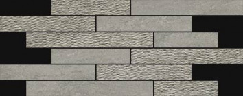 Mosaïque Novabell Norgestone Muretto Mix Light Grey