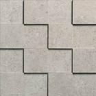 Mosaïque Novabell Sovereign Grigio Chiaro 3D 7,5x7,5