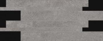 Mosaïque Provenza Re-Play Dark Grey Listelli Sfalsati