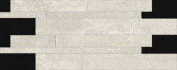Mosaïque Provenza Re-Play White Listelli Sfalsati