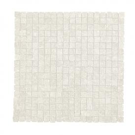30x30<br>Mosaico levigato bianco