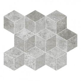 Mosaïque Ibero Camelot Grey Cube