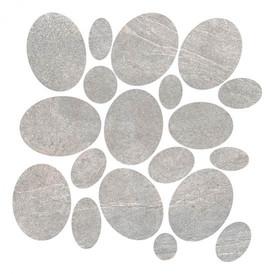 Mosaïque Novabell Aspen Rock Grey Sassi