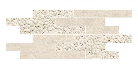 Mosaïque Novabell Norgestone Muretto Mix Ivory