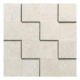 Mosaïque Novabell Sovereign Avorio 3D 7,5x7,5