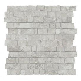 Mosaïque Provenza Unique Travertine Silver Ancient Mini Block