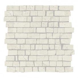 Mosaïque Provenza Unique Travertine White Minimal Mini Block
