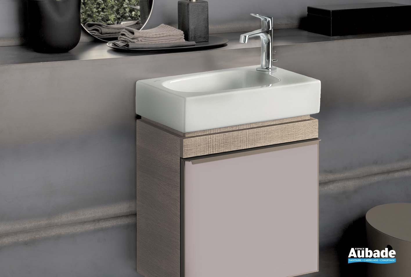 Comment Installer Un Lave Main Avec Meuble lave-mains et meuble geberit | espace aubade