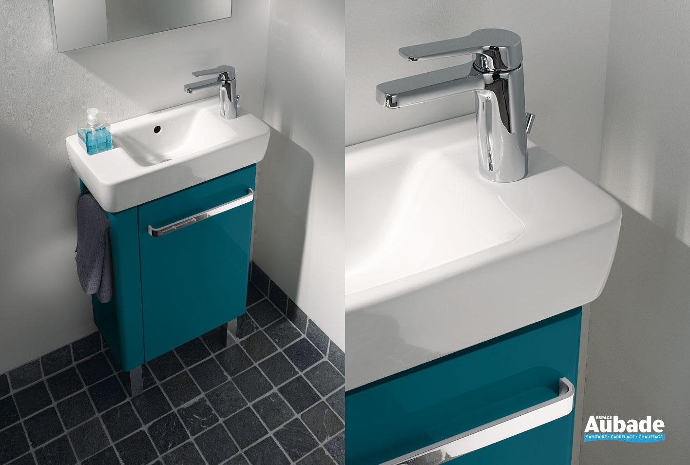 Comment Installer Un Lave Main Avec Meuble lave-main allia prima style compact | espace aubade