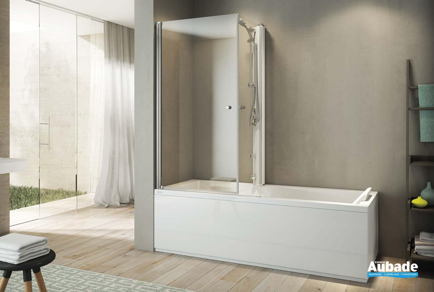 Poser Une Baignoire Avec Rebord baignoires combi mix jacuzzi   espace aubade