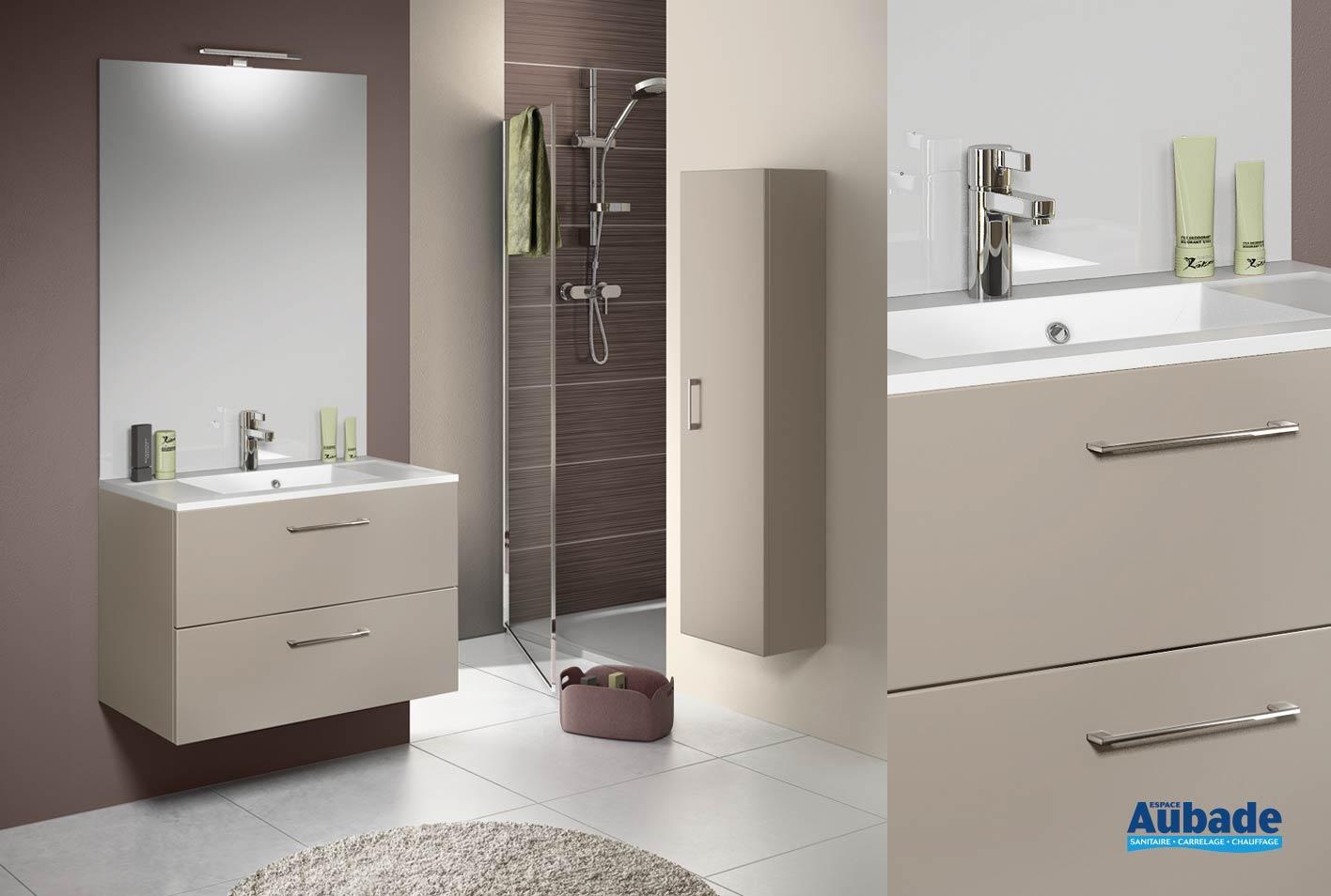 Meuble salle de bain delpha duoexpress espace aubade - Meuble salle de bain delpha ...
