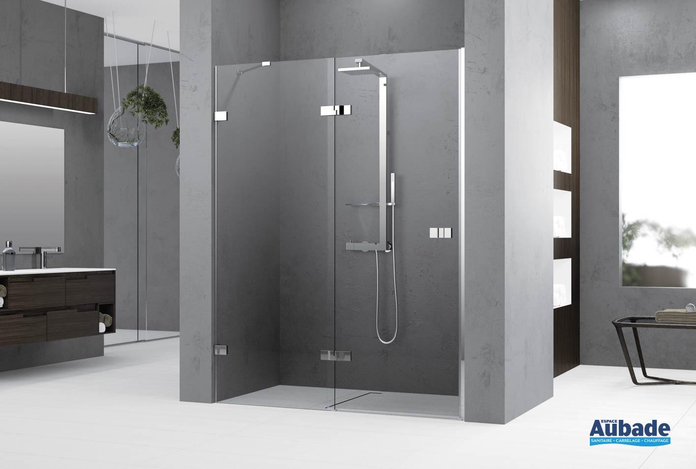 parois de douche gala novellini espace aubade. Black Bedroom Furniture Sets. Home Design Ideas