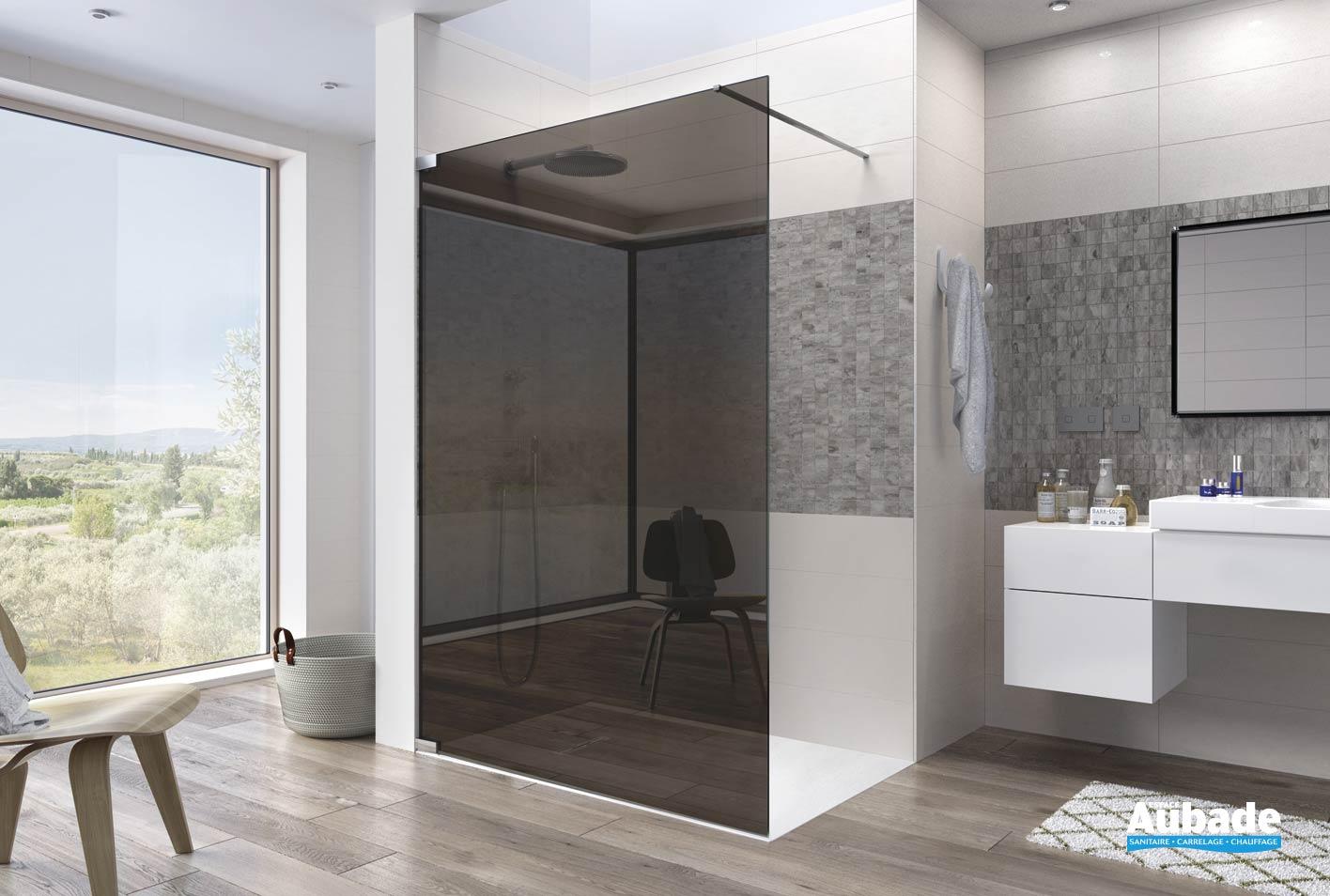 parois de douche kinequartz ouvert kinedo espace aubade. Black Bedroom Furniture Sets. Home Design Ideas