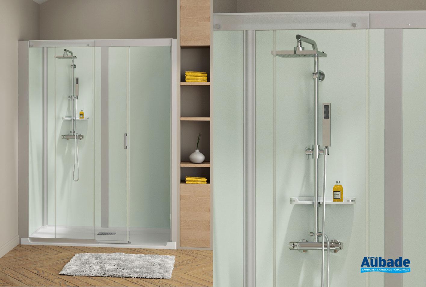 cabines de douche intégrales kinemagic design kinedo