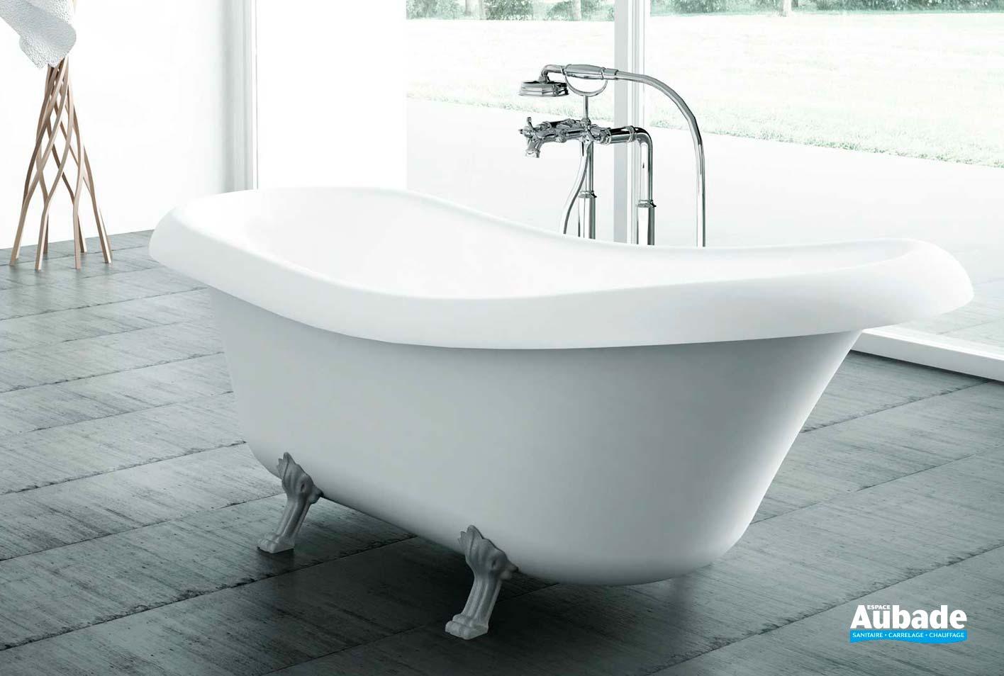 Baignoire Beton De Synthese baignoires cedam fidji cedam | espace aubade