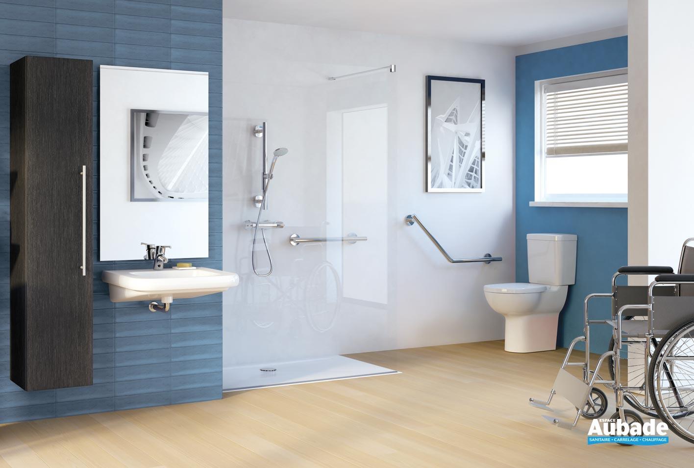 Lavabo Personne Mobilité Réduite lavabo pmr en porcelaine design porcher matura 2 | espace aubade