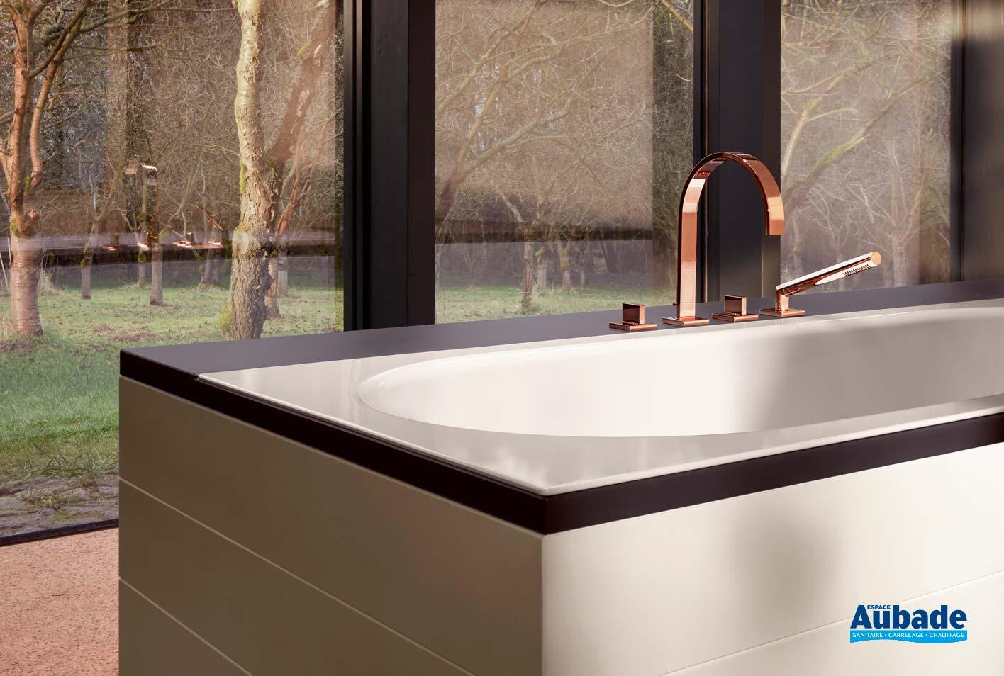 Poser Une Baignoire Avec Rebord baignoire encastrée bettestarlet spirit   espace aubade