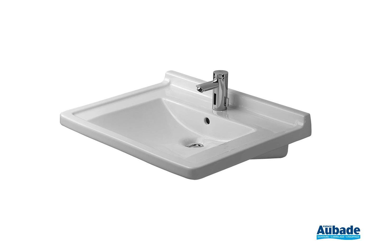 Lavabo Personne Mobilité Réduite lavabo collectif : lavabo handicapé duravit starck 3