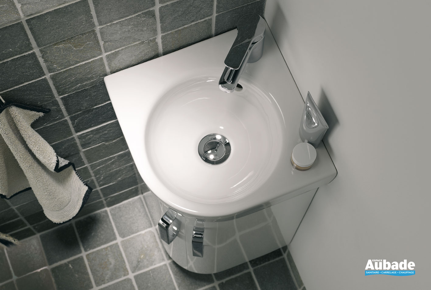 Vasque D Angle De Salle De Bain lave-mains prima style compact d'allia