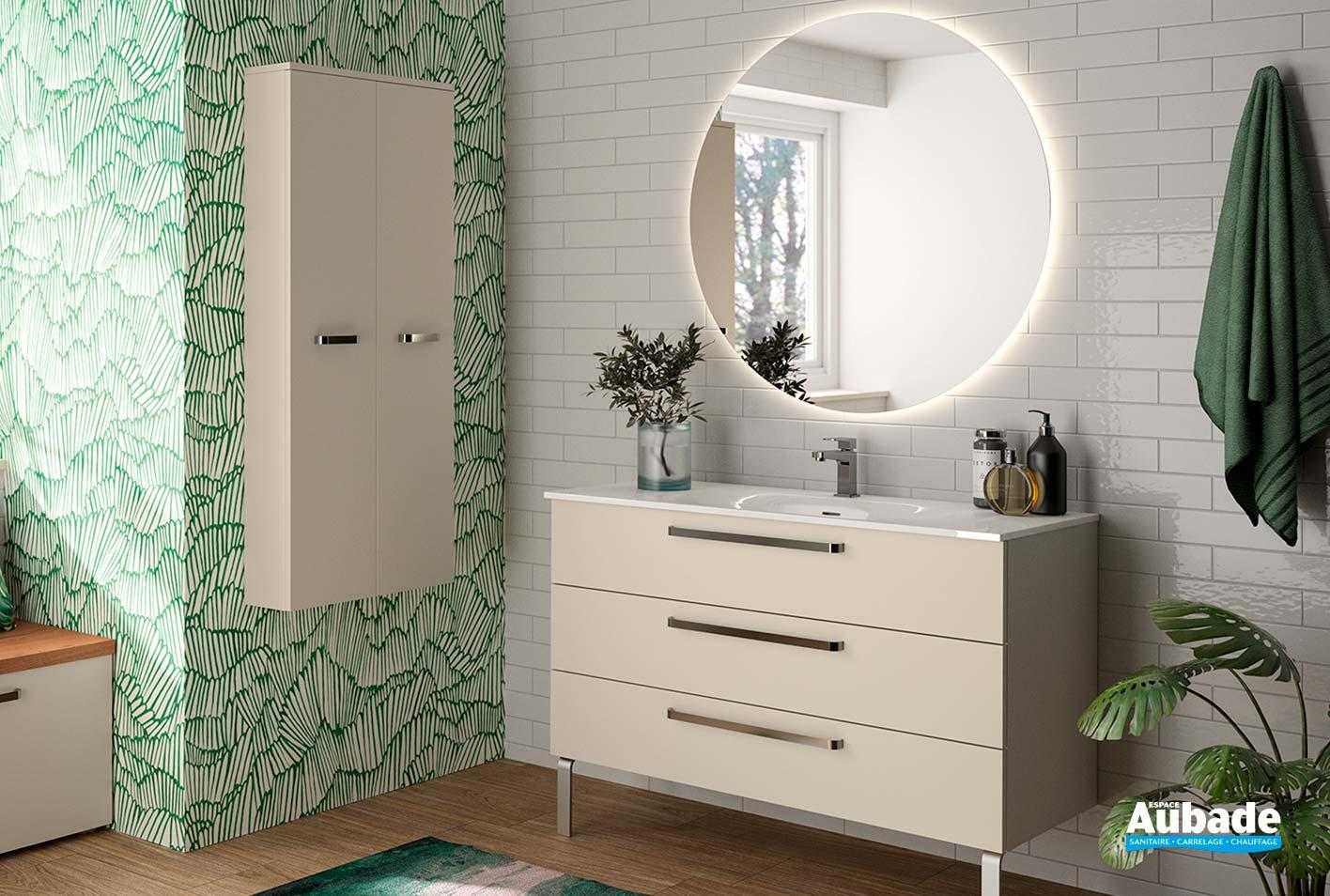 Salle De Bain Chocolat Turquoise meuble salle de bain zoé cedam | espace aubade