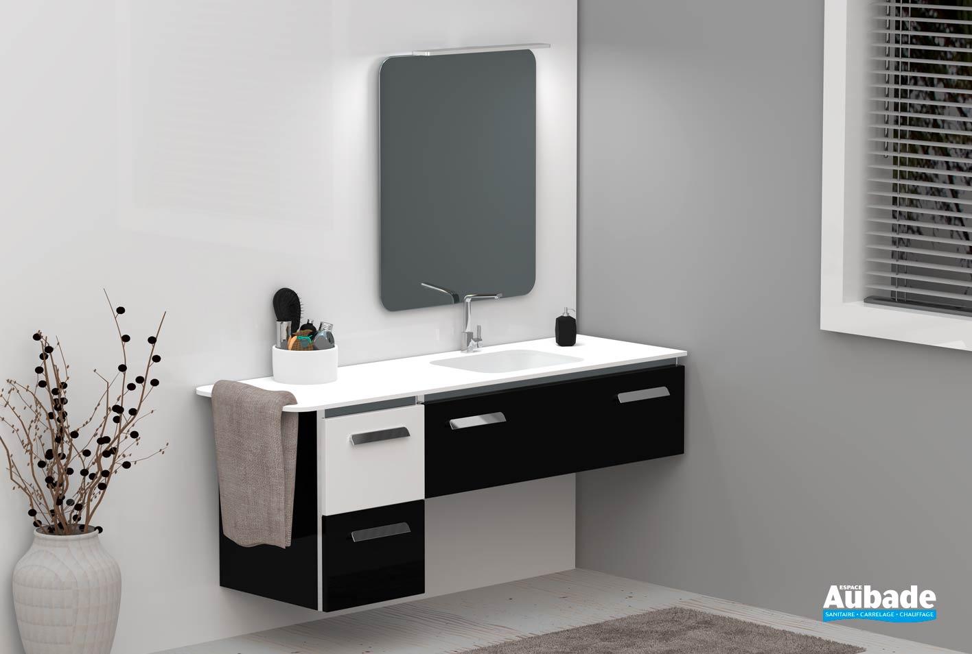 Collection meubles salle de bains Lido Duo  Espace Aubade