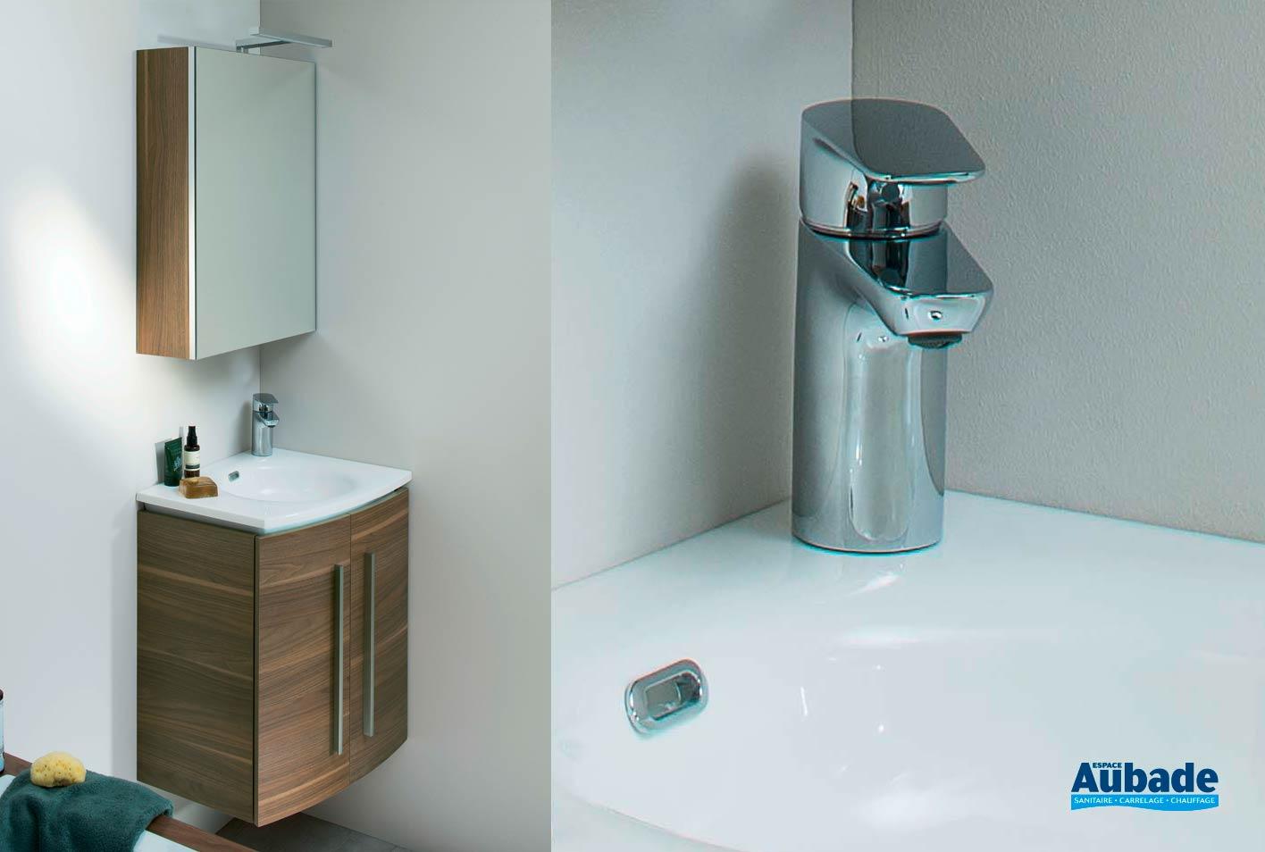 Salle De Bain Halo meuble salle de bain soon de sanijura | espace aubade