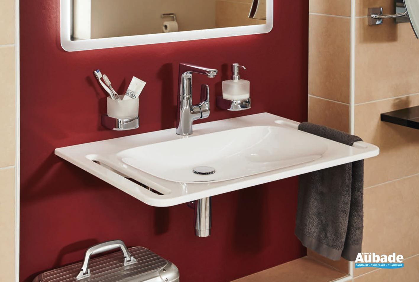 Plan de toilette derby style vigour espace aubade Plan de toilette salle de bain