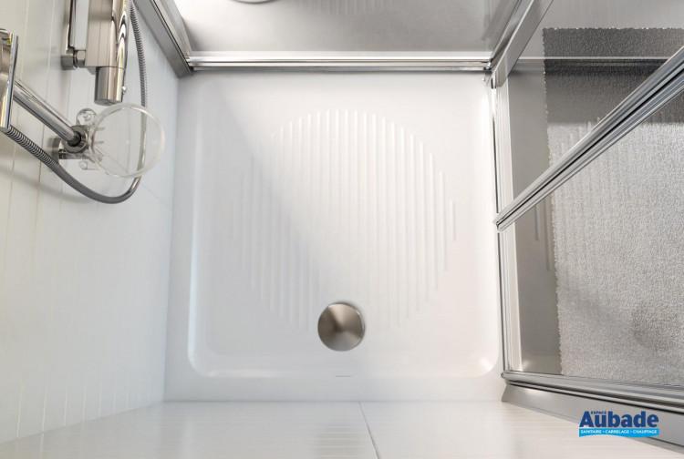 Receveur encastrer plat ideal standard espace aubade - Receveur douche a encastrer ...