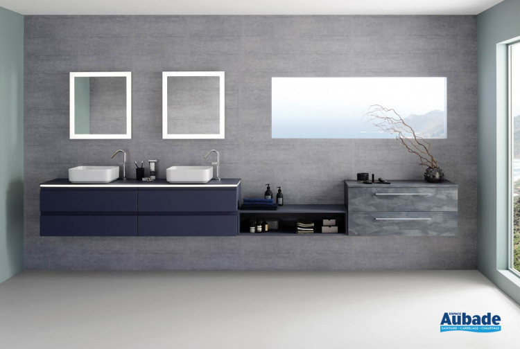 meubles de salle de bains Sanijura modèle Halo