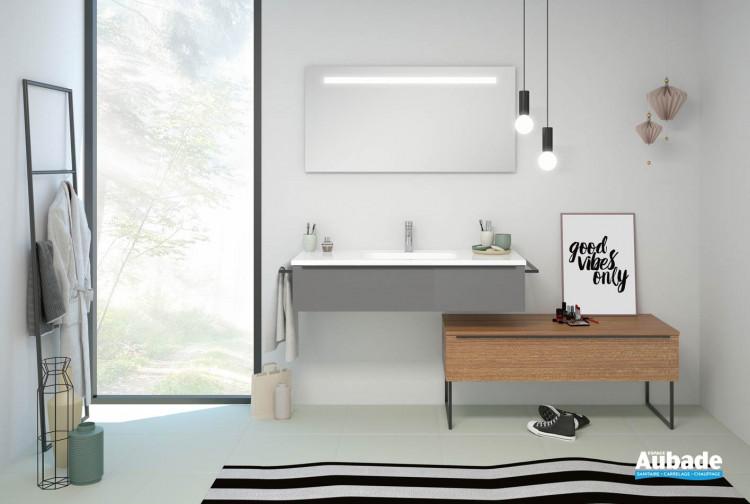 Meuble salle de bain Burgbad collection Style II | Espace Aubade