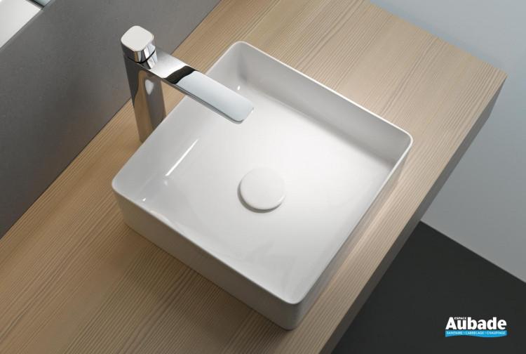 lavabo, vasque Living Square Saphirkeramic Laufen